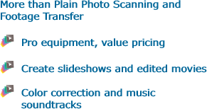 More than Plain Photo Scanning