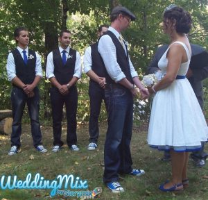 storymix, weddingmix, wedding, canada, ontario, vintage, woods, rustic, camping, campout, converse