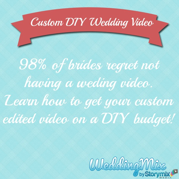 Custom wedding video