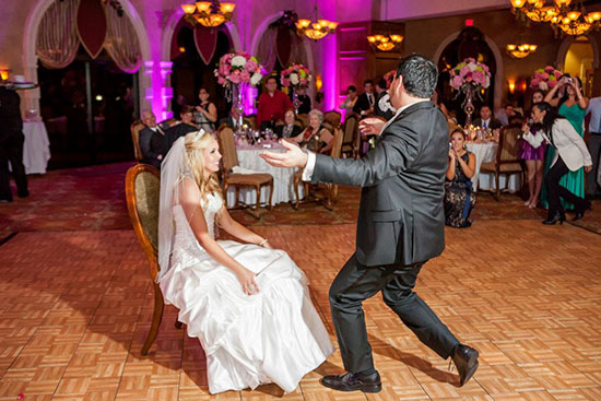 "TCB Mobile Entertainment presents ""Love Story"", a personalized wedding DJ service."