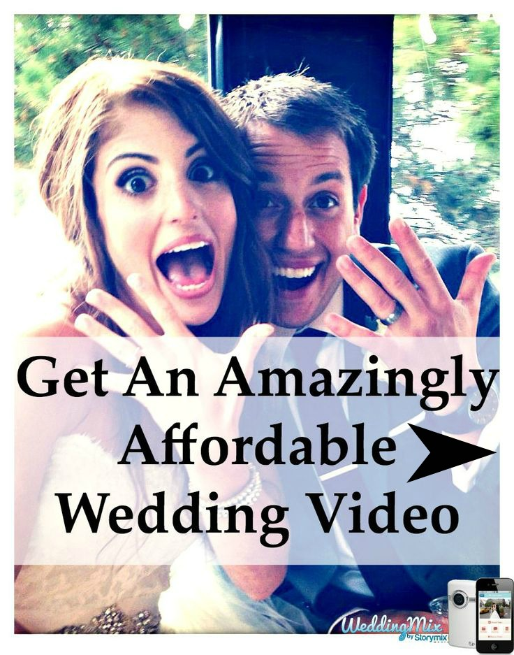 budget wedding video