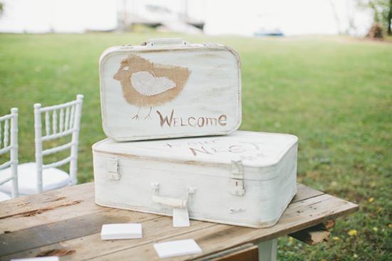 Nashville fall wedding is shabby chic
