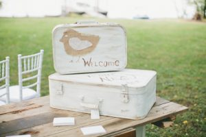Nashville fall wedding is shabby chic