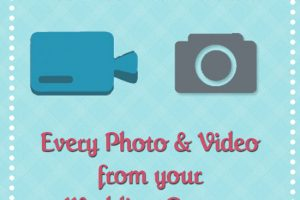 WeddingMix app allows you to capture every photo and video from wedding guests