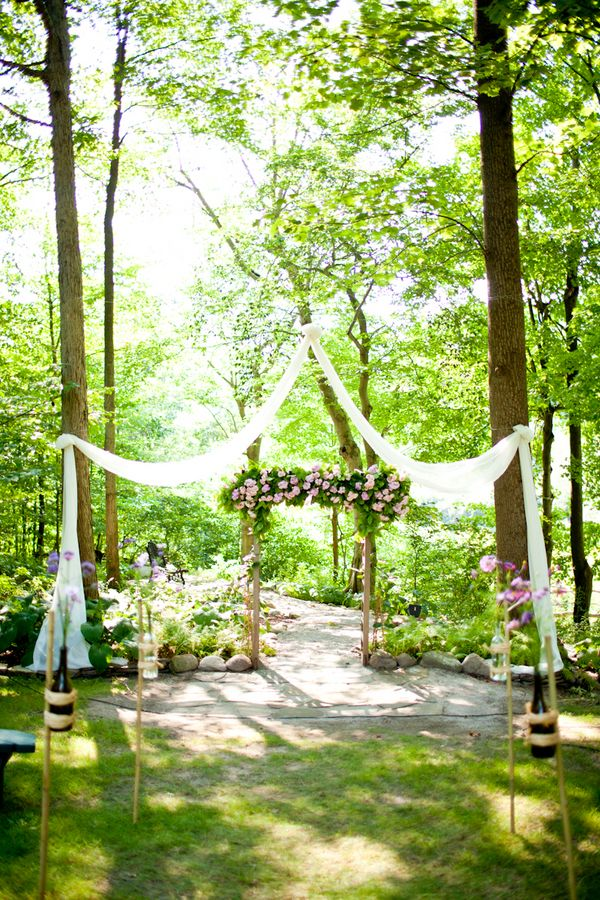 Spring wedding outdoor ideas