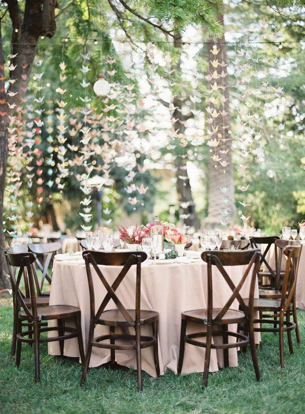 Diy Decoration Ideas For An Outdoor Wedding