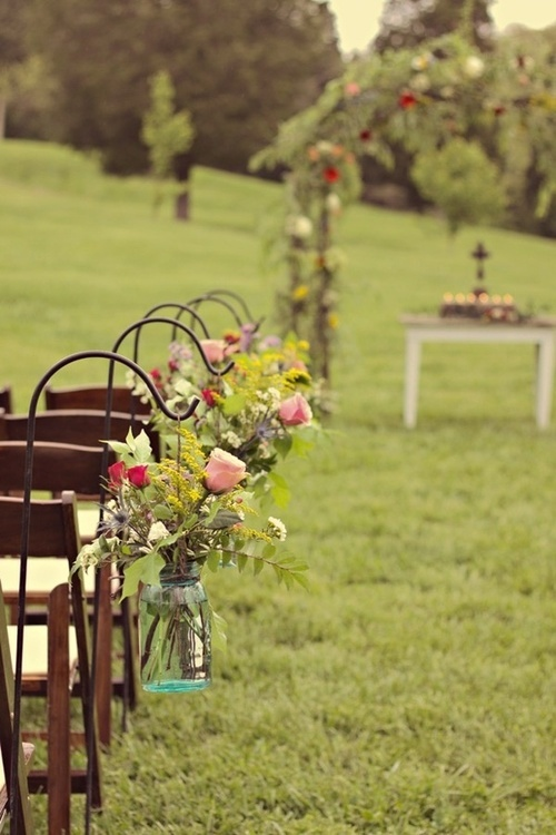 August Wedding outdoor ideas