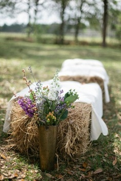 Outdoor wedding ideas for august