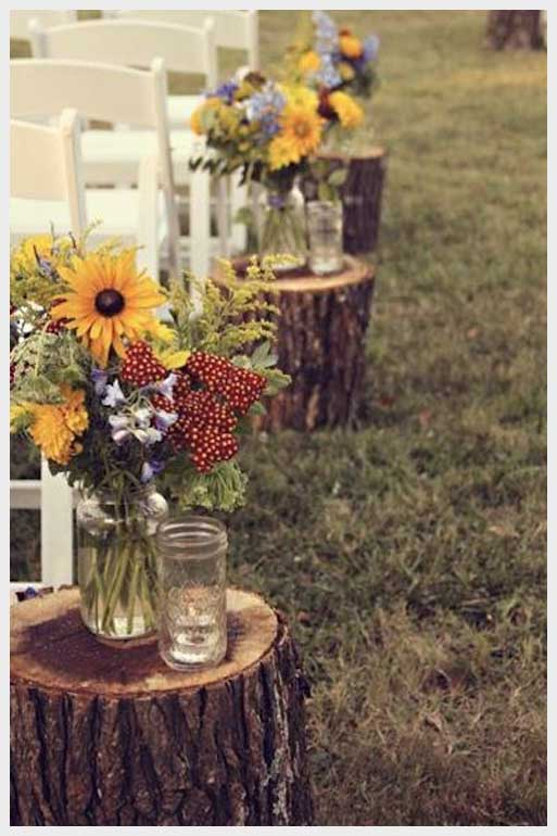 Outdoor Rustic Country Wedding Ideas For Fall