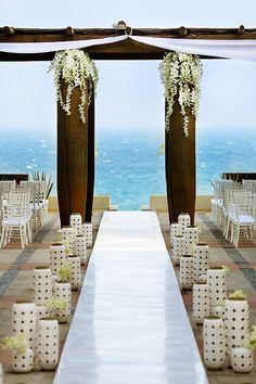 Destination Wedding Alter
