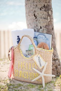 Island Wedding Welcome Package