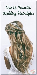 favorite wedding hairstyles