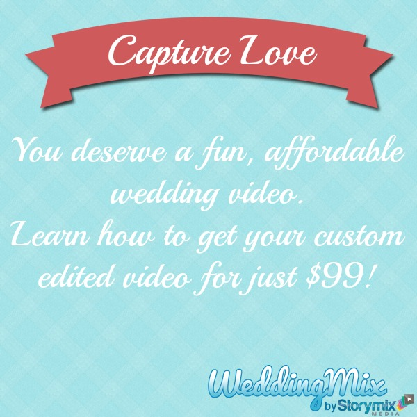 $99 wedding video