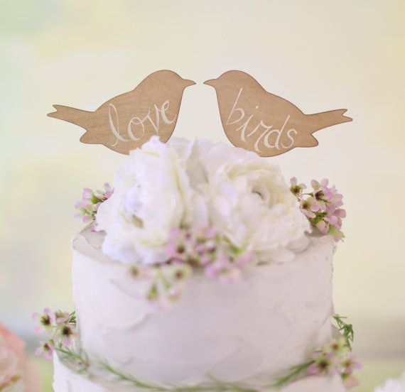 Spring Wedding Cake Topper