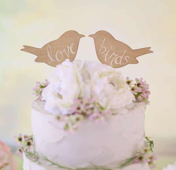 Spring Wedding Cake Topper