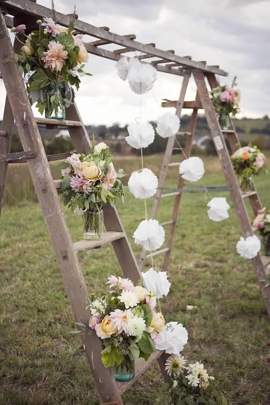 Easy DIY Spring Wedding
