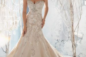 Affordable Mermaid wedding dress