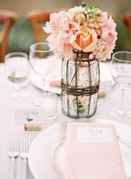 Pink spring wedding palette