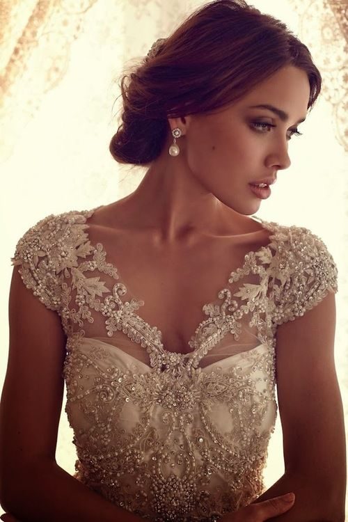 Great spring wedding gown