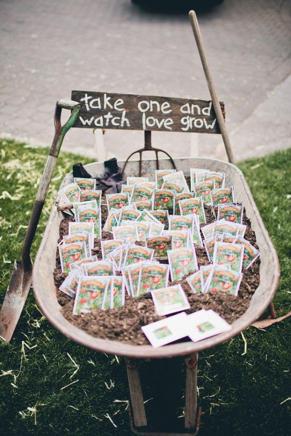 Super affordable spring wedding favor ideas!