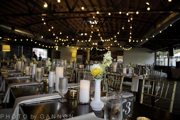 november wedding reception idea