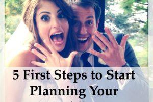 start wedding planning tips