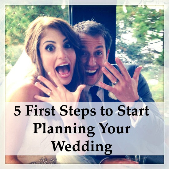 The First Things To Do When Wedding Planning