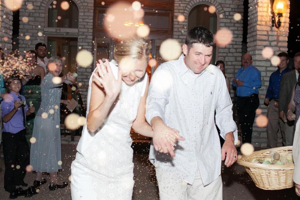 Rice exit wedding video