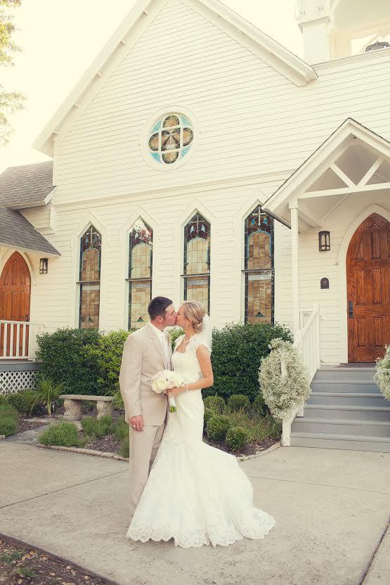 Chapel wedding photo