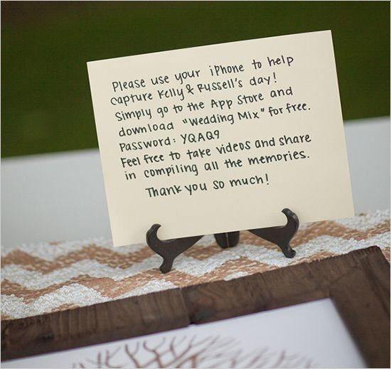 diy wedding table cards