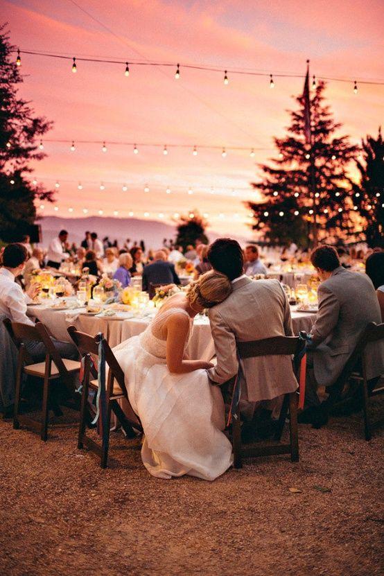 Cutest wedding reception photos