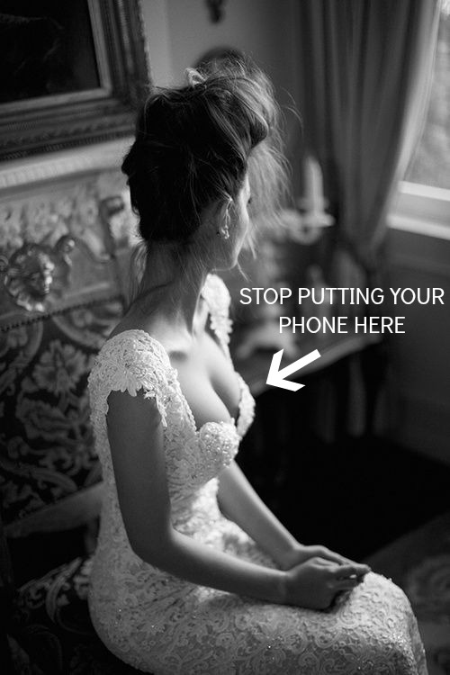 smartphone etiquette at weddings