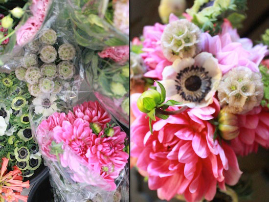 How to create your own pink DIY wedding bouquets
