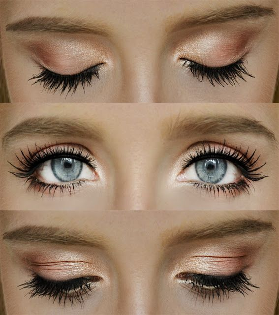 Gallery For > Natural Eye Makeup Looks For Blue Eyes