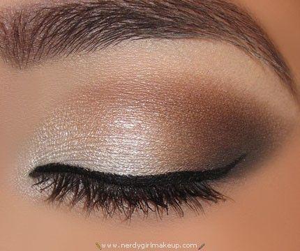 natural wedding makeup for brown eyes