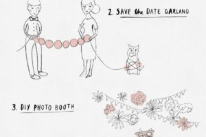 How to set up an easy DIY wedding photo booth