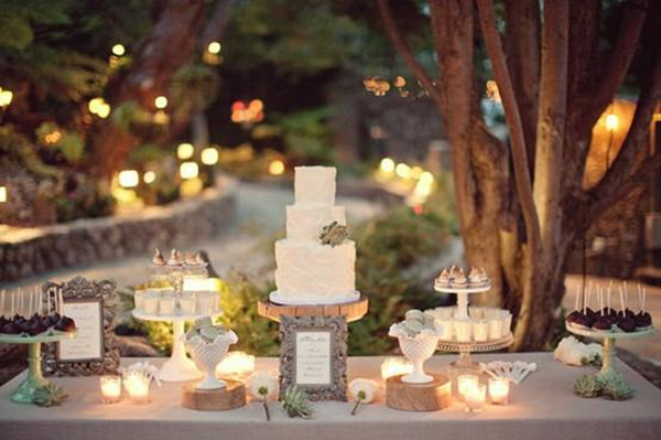 wedding desert station
