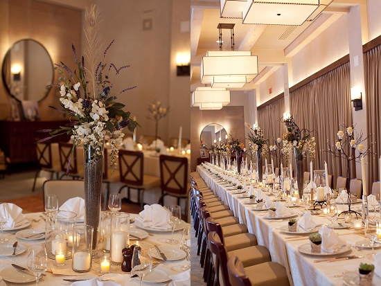 wedding table colors