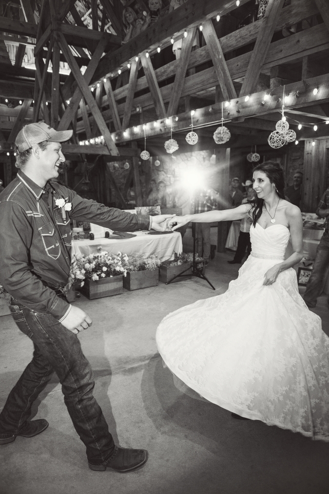 rustic wedding couple picture