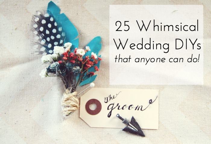 easy wedding diy projects