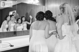 unique bridesmaids picture