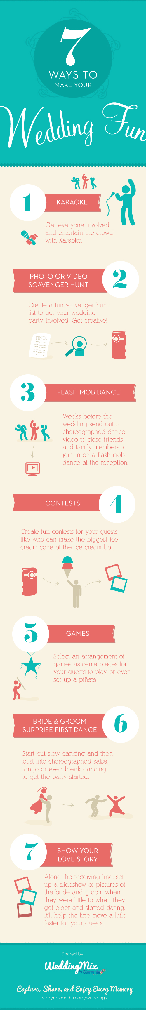 7 ideas to make your wedding entertainment fun