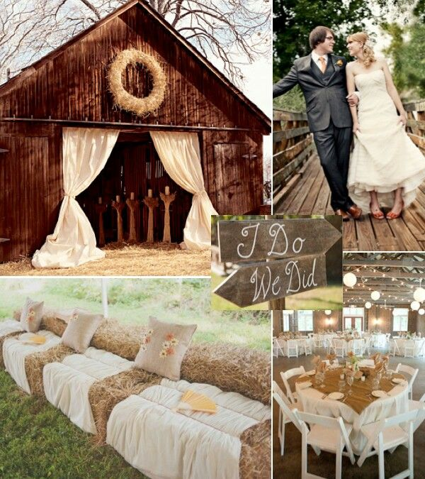 Easy Rustic Wedding Ideas Weddingmix