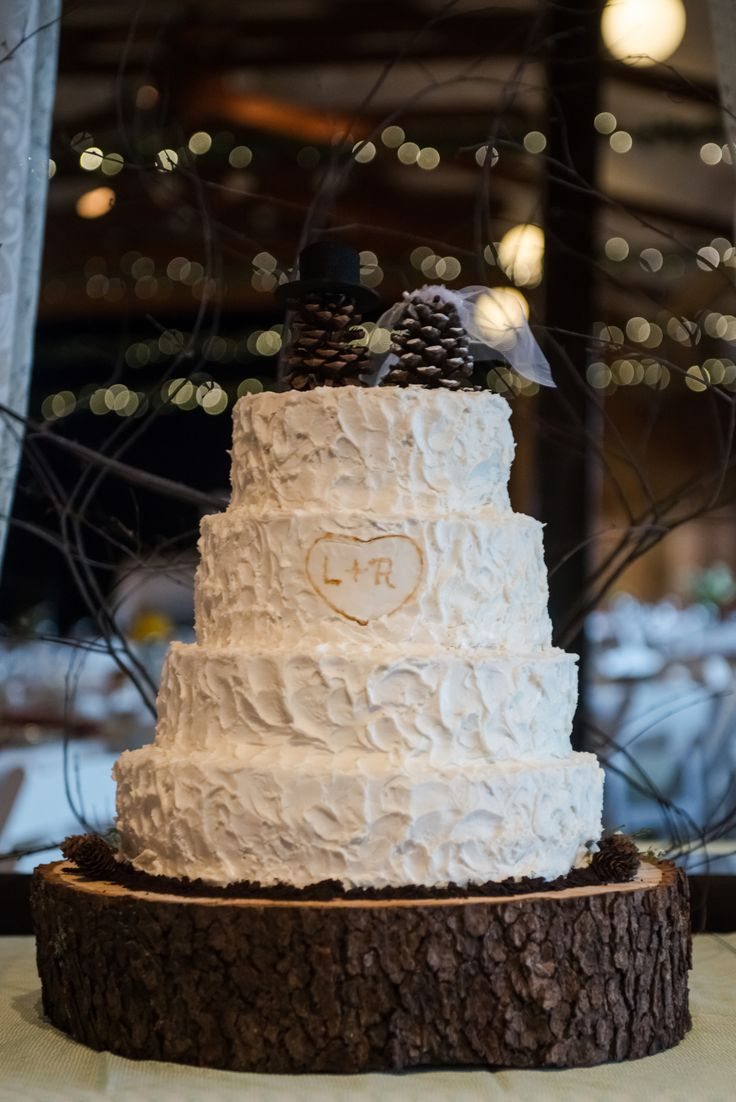 rustic wedding ideas cake