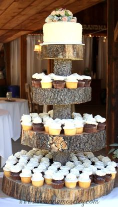 rustic wedding cupcake ideas