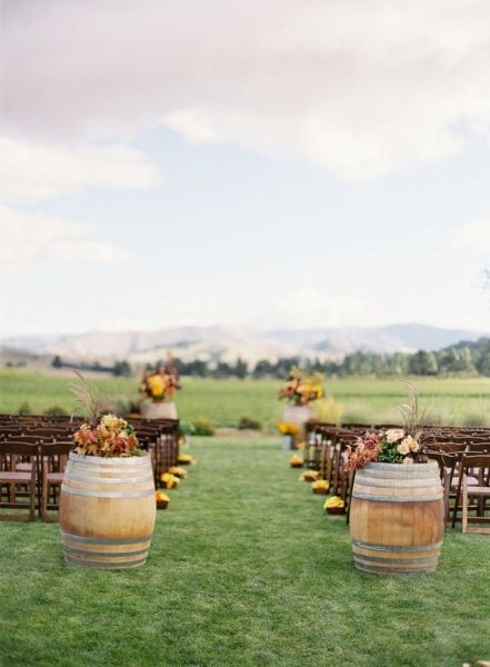 best barrel rustic wedding ideas