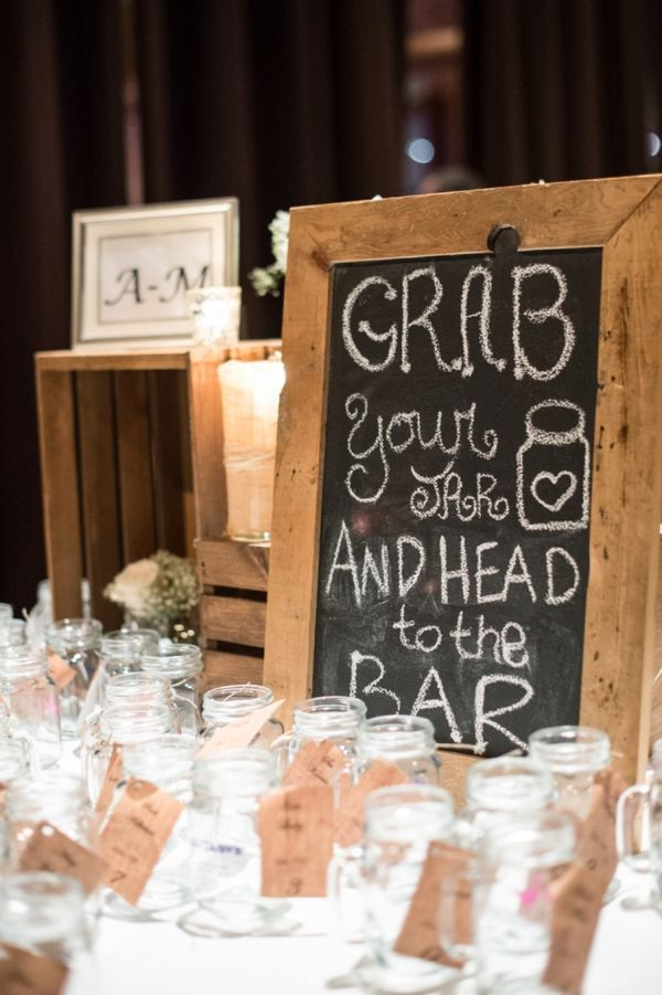 rustic wedding ideas mason jars