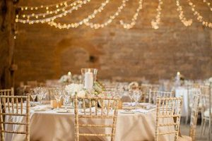 rustic wedding lighting ideas