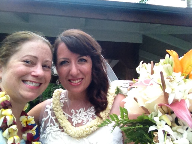 outdoor wedding in hawaii