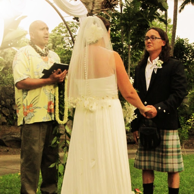 wedding in kona hawaii